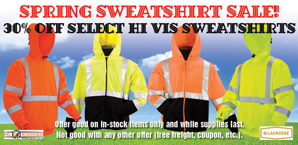 Hi Vis Sweatshirt Sale